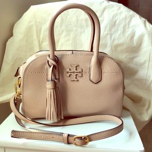 Authentic Tory Burch McGraw Small Satchel